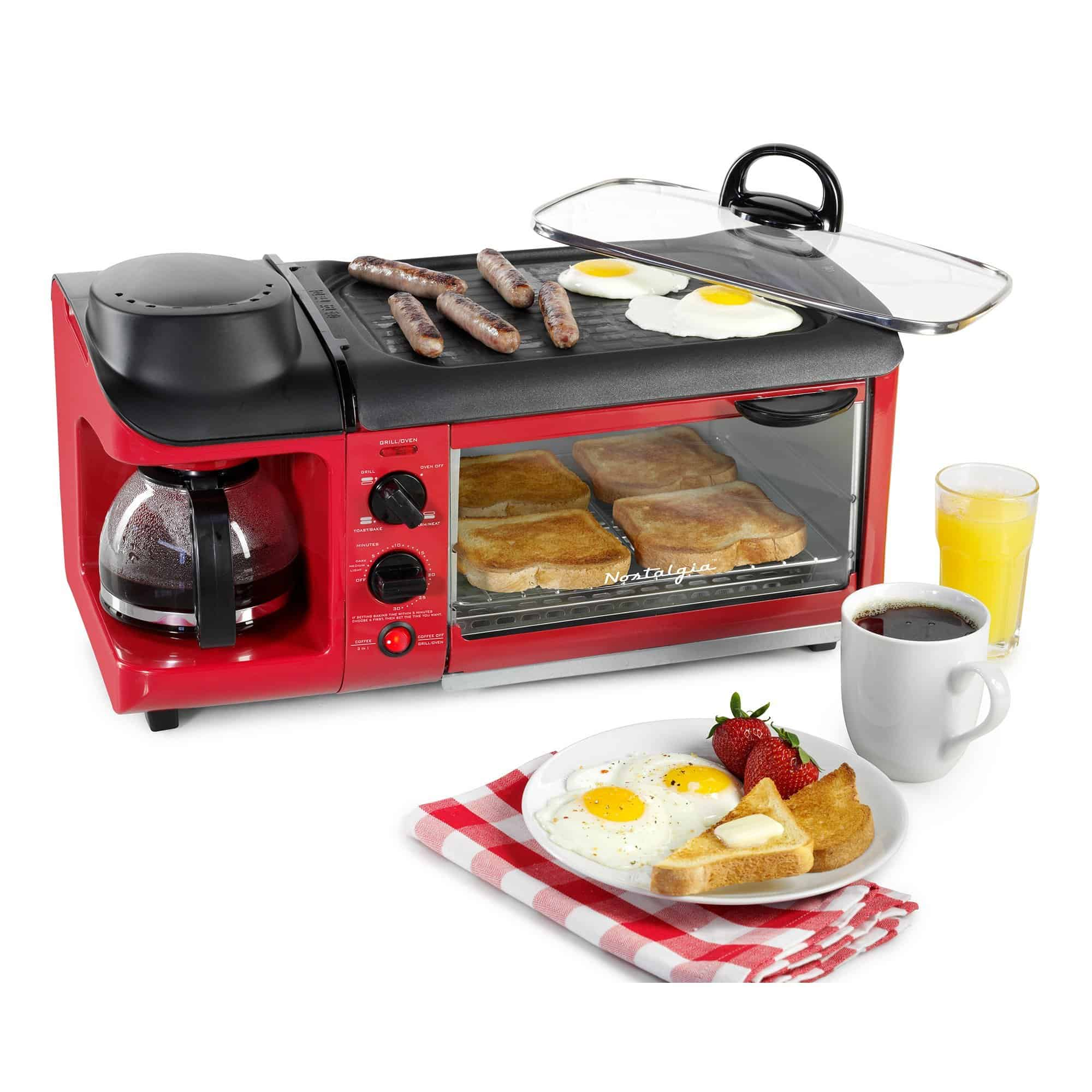 Retro 3 In 1 Family Size Breakfast Station 1