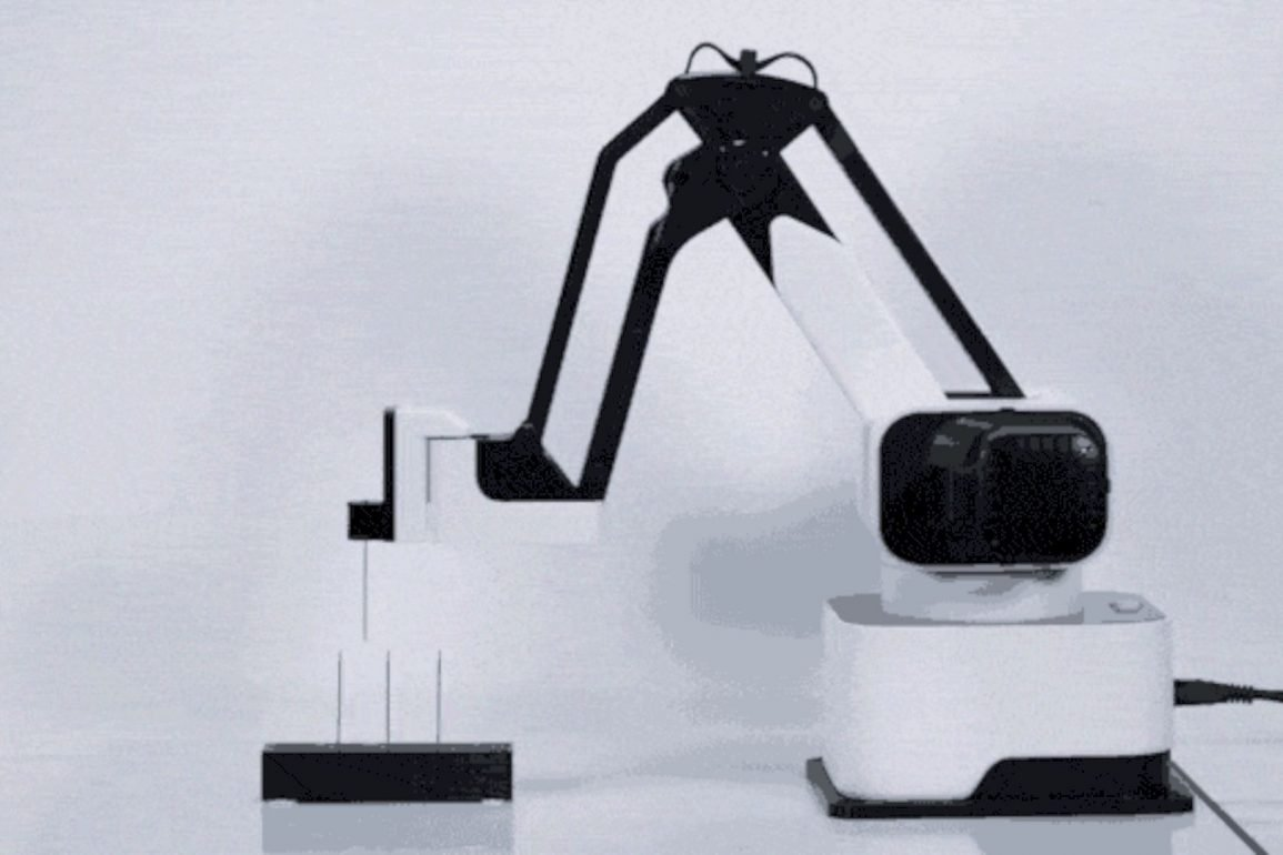 Hexbot The Modular All In 1 Desktop Robotic Arm 1