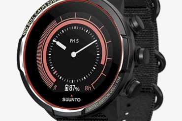 SUUNTO 9 BARO Titanium Red Bull X Alps Limited Edition 3