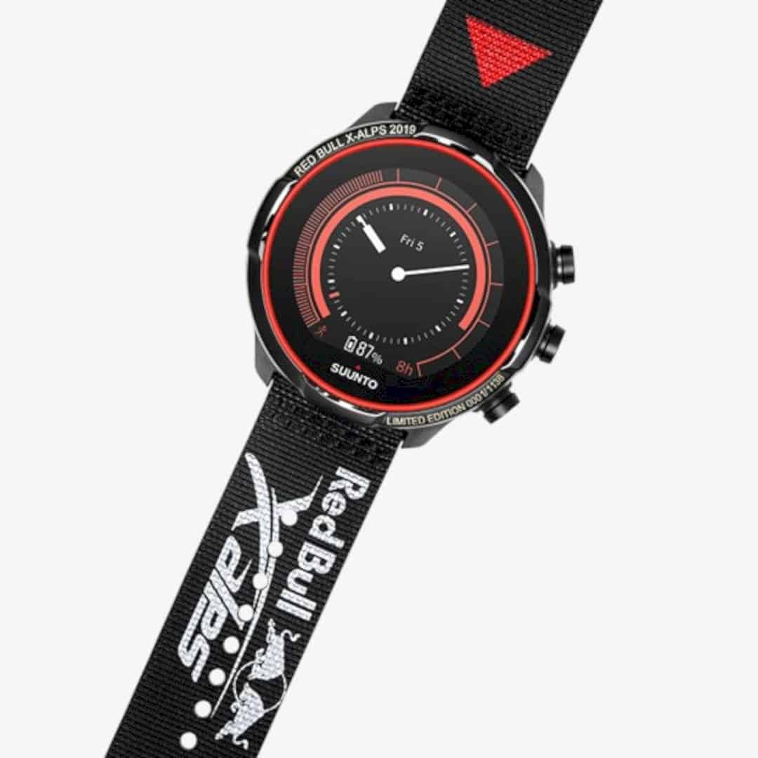 SUUNTO 9 BARO Titanium Red Bull X Alps Limited Edition 8