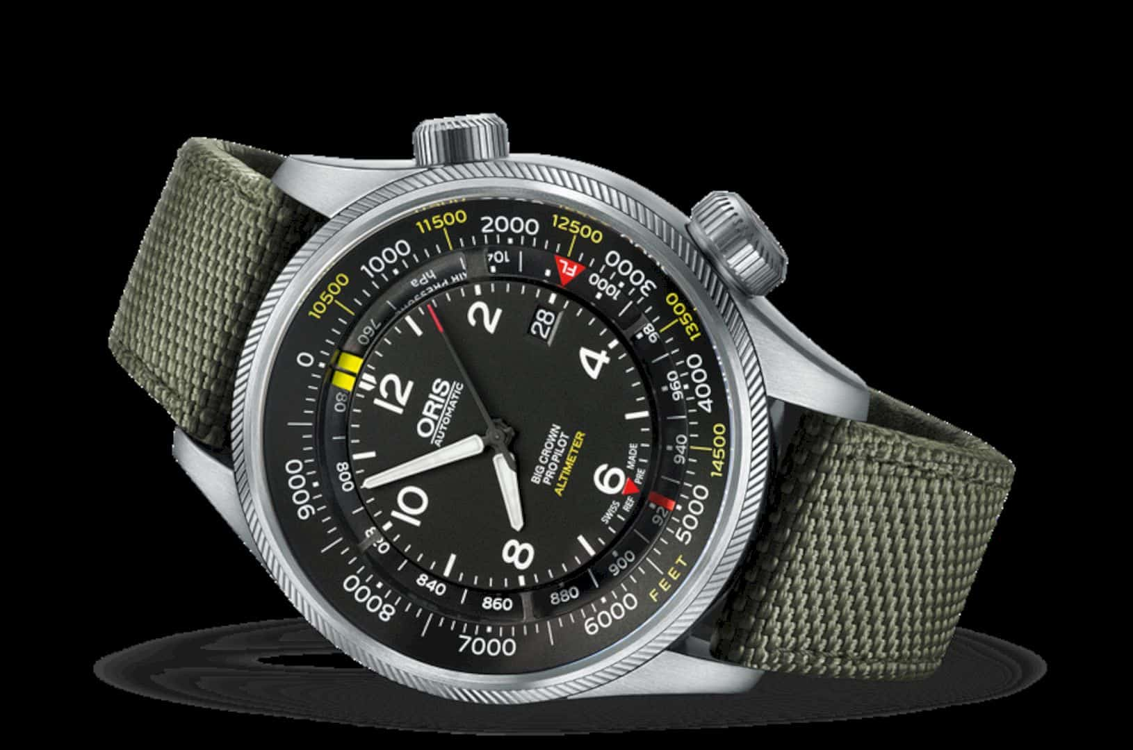 Oris Big Crown Propilot Altimeter With Feet Scale 1
