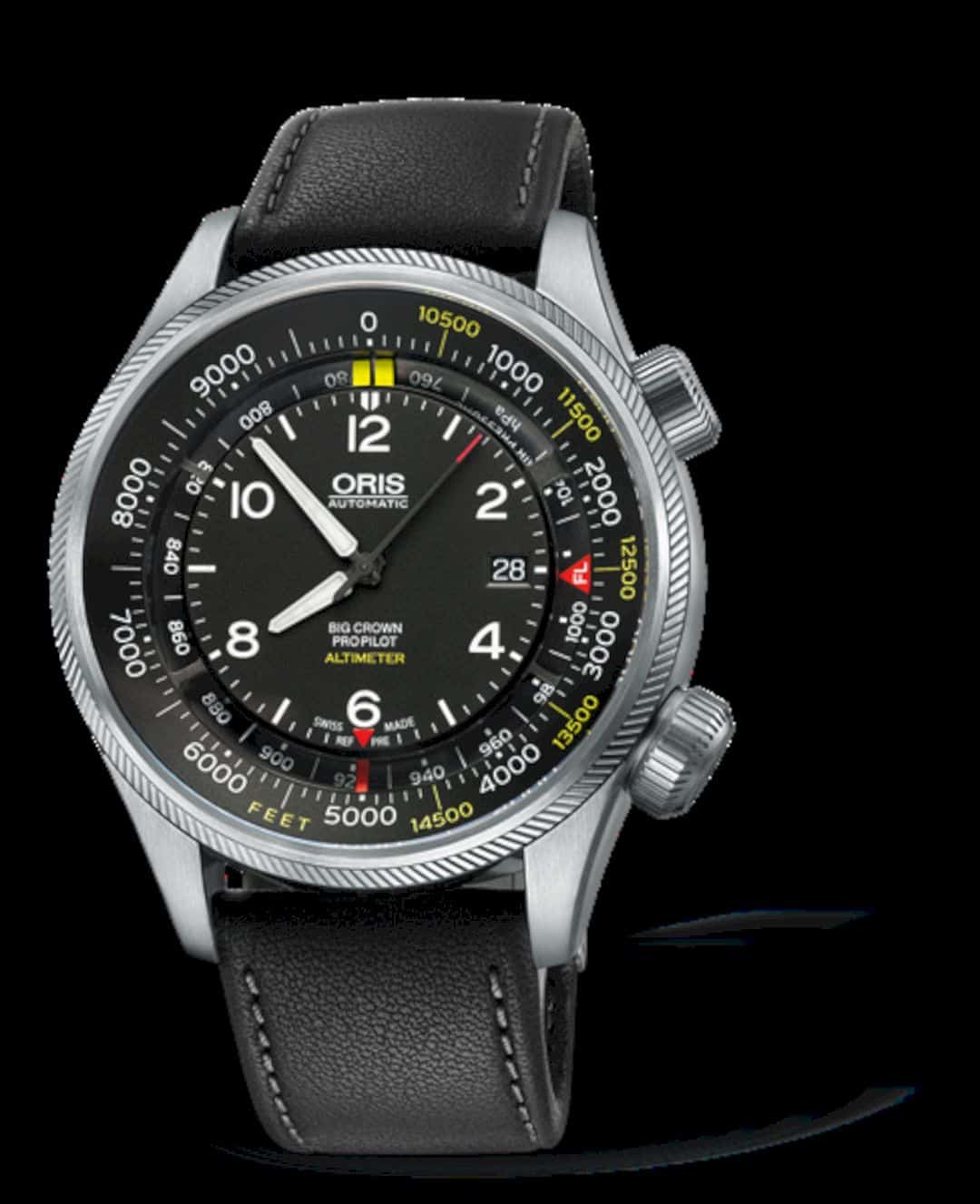 Oris Big Crown Propilot Altimeter With Feet Scale 2