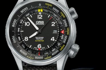 Oris Big Crown Propilot Altimeter With Feet Scale 3