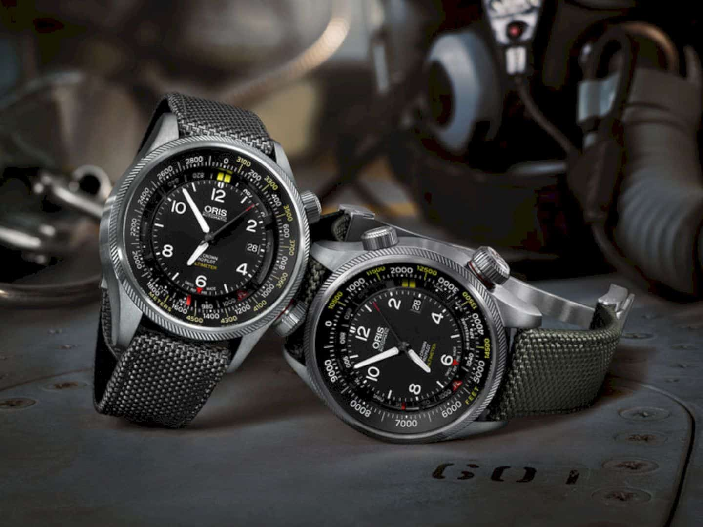 Oris Big Crown Propilot Altimeter With Feet Scale 6
