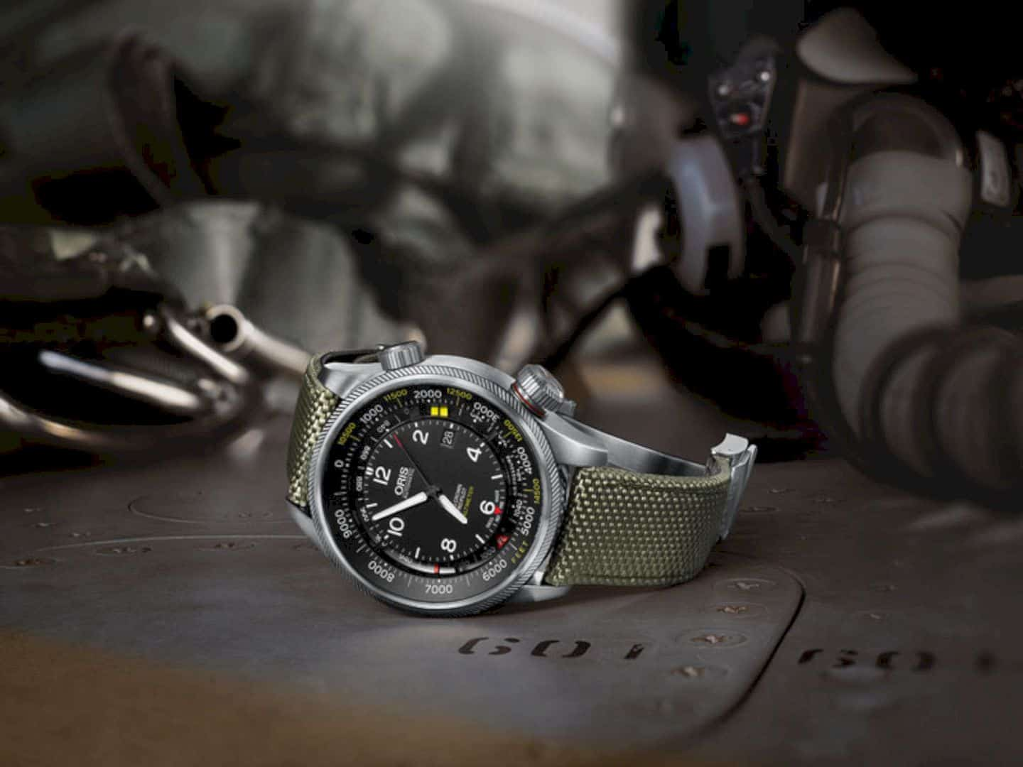 Oris Big Crown Propilot Altimeter With Feet Scale 8
