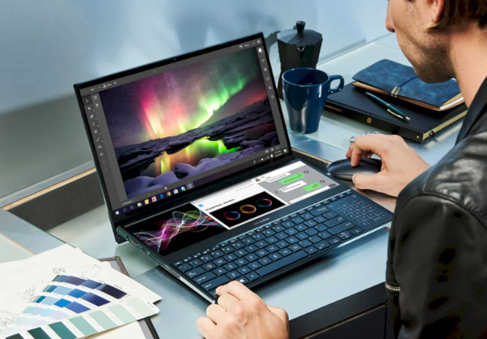 The ZenBook Pro Duo And ZenBook Duo 5