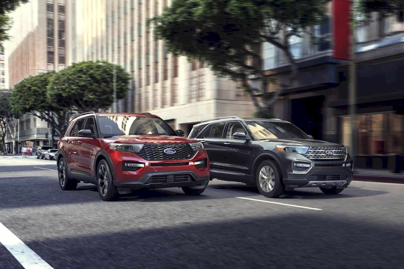 2020 Ford® Explorer SUV 4