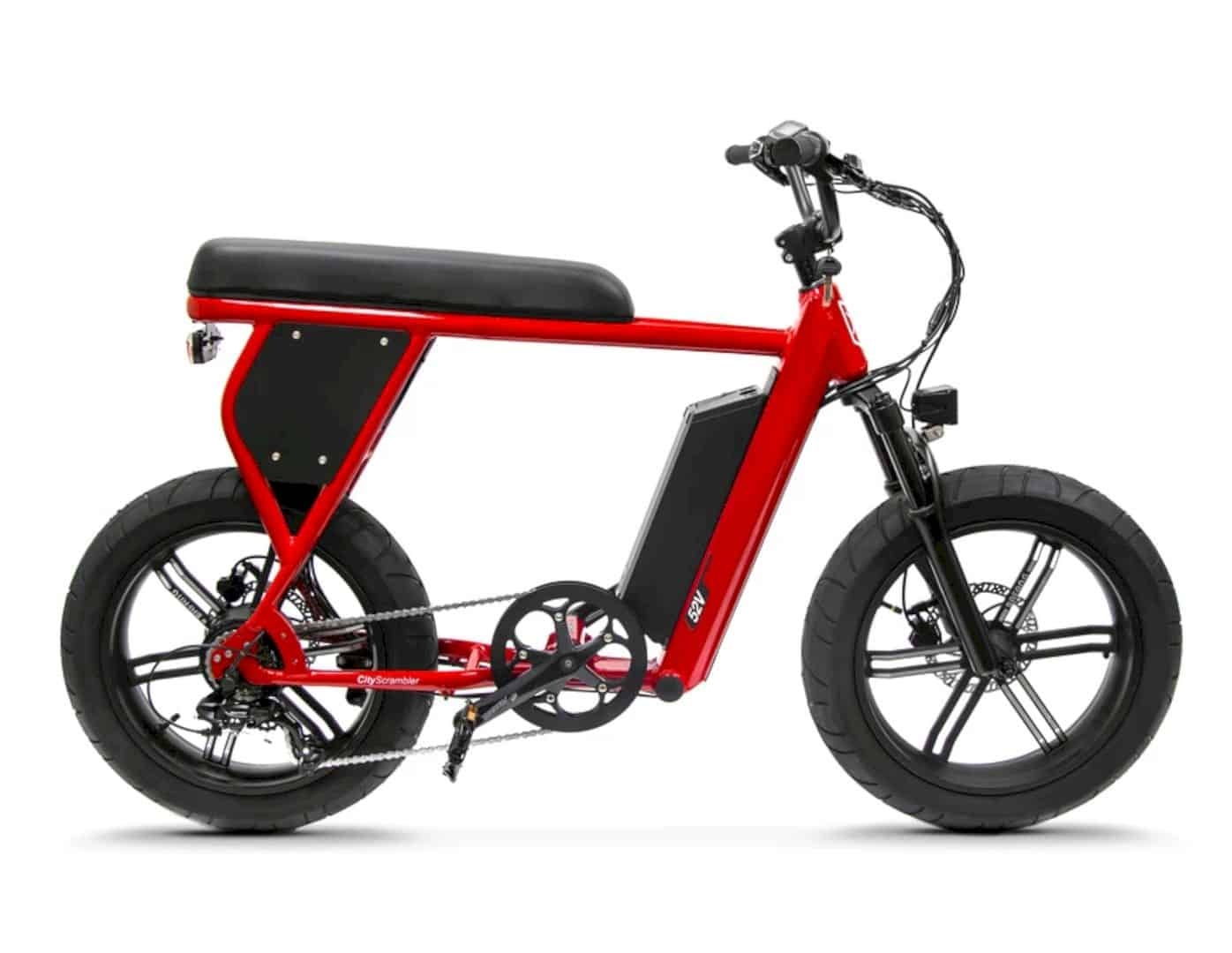 CityScrambler Electric Bike 1