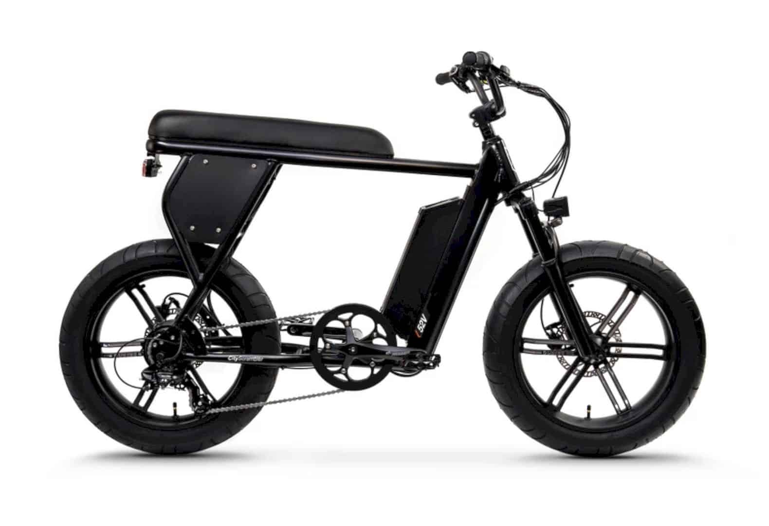 CityScrambler Electric Bike 10