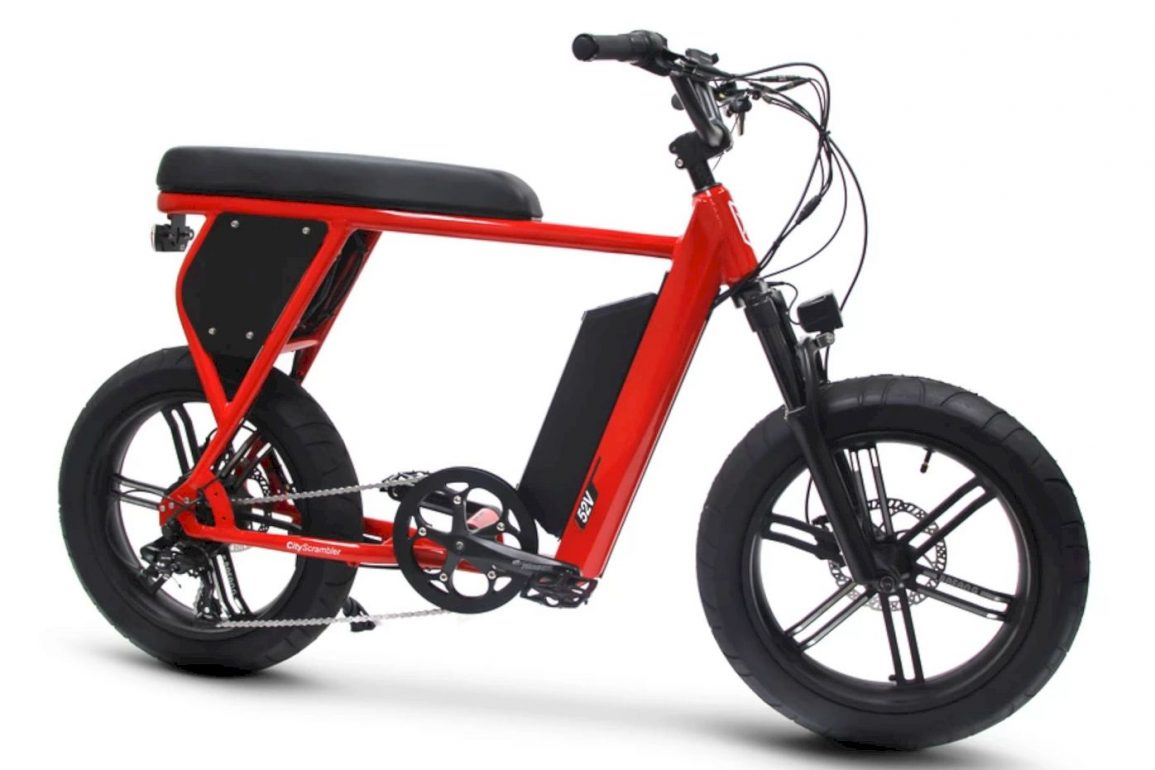CityScrambler Electric Bike 7