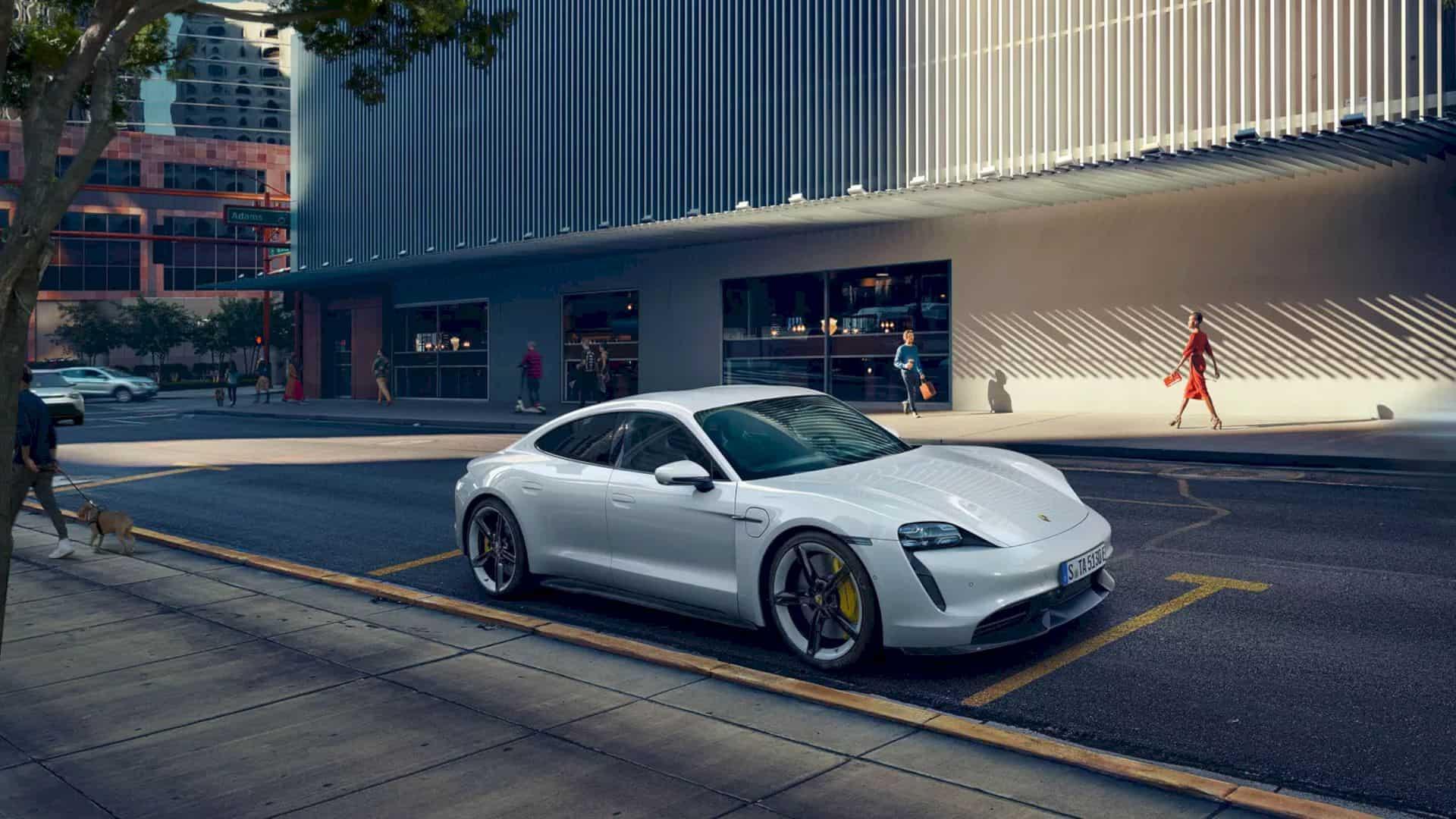 Porsche Taycan Models 4