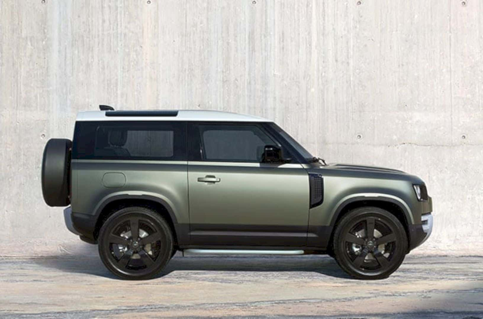 The New Land Rover Defender 4