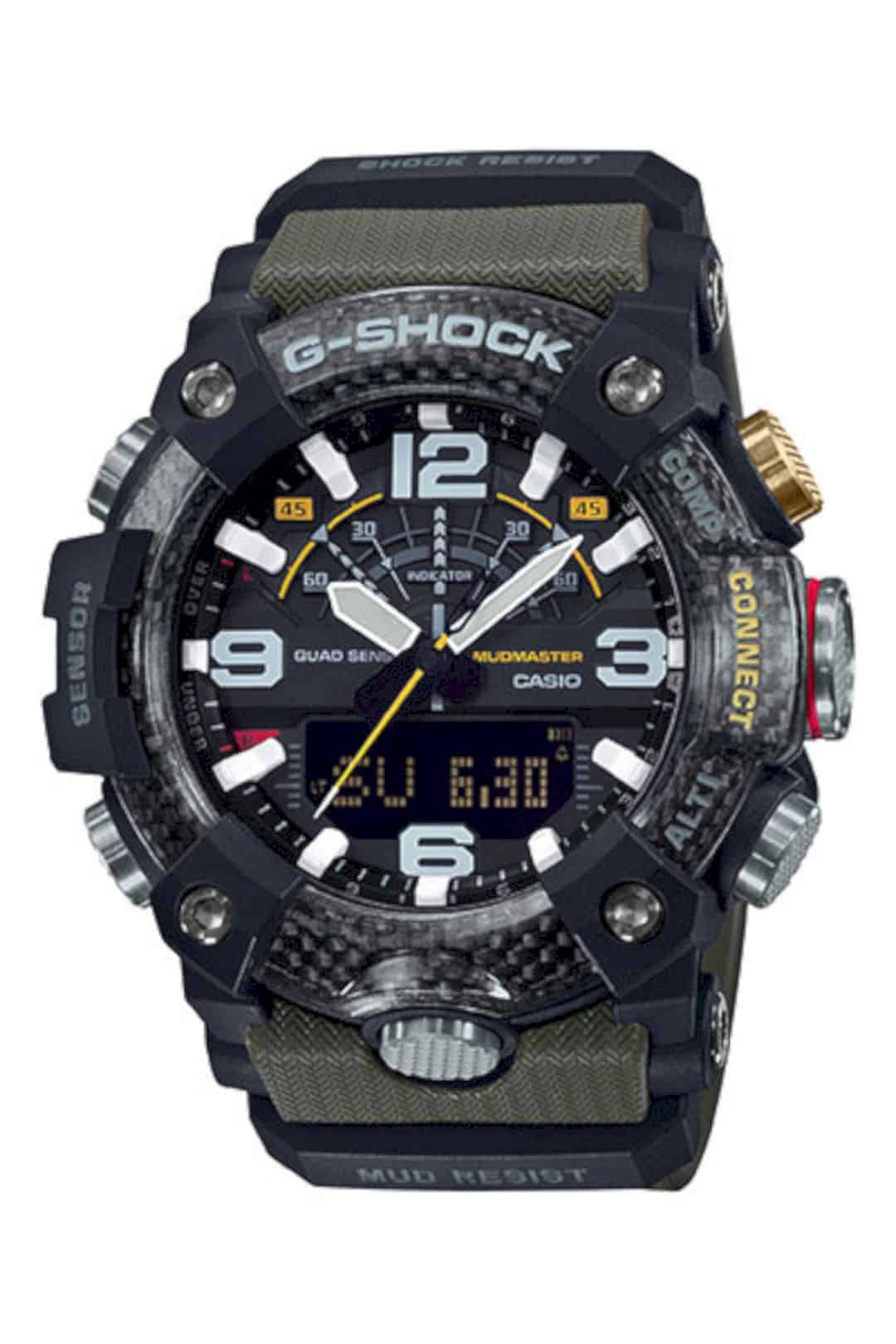 G Shock Carbon Core Guard Mudmaster GG B100 2