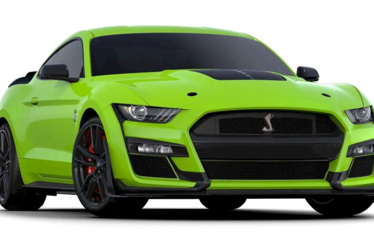 Ford 2020 Mustang Shelby® GT500® 4
