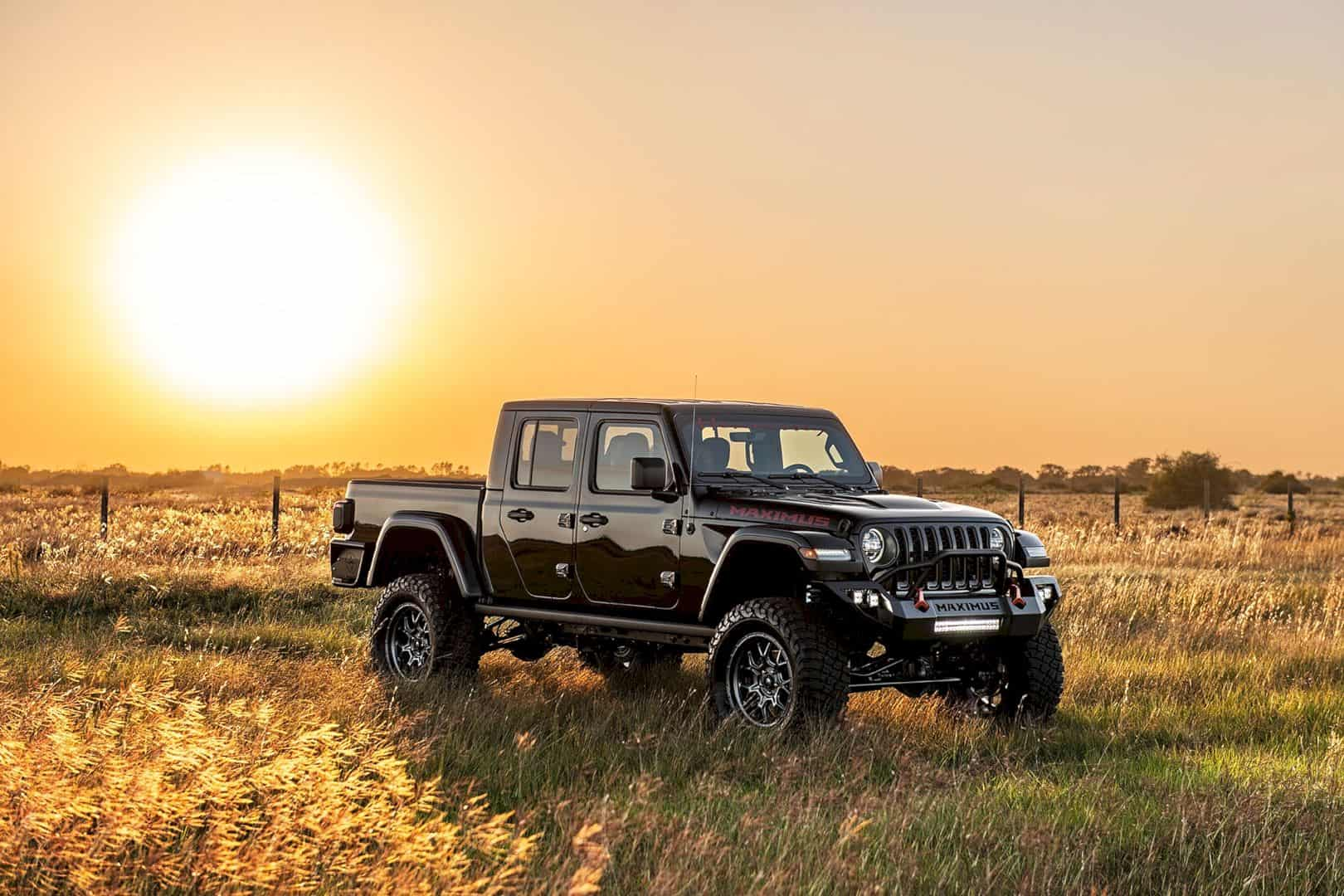 Hennessey Maximus 1000 Jeep Gladiator Truck 9