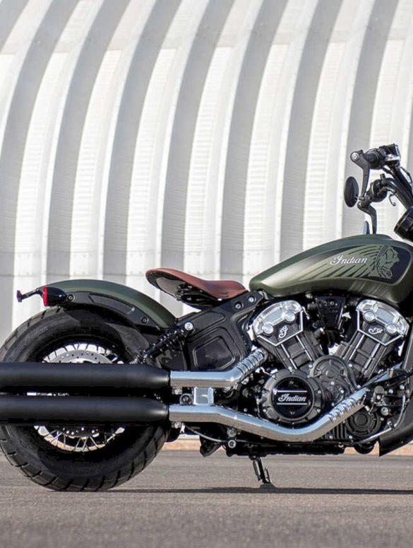 Indian Scout Bobber Twenty Motorcycle 3
