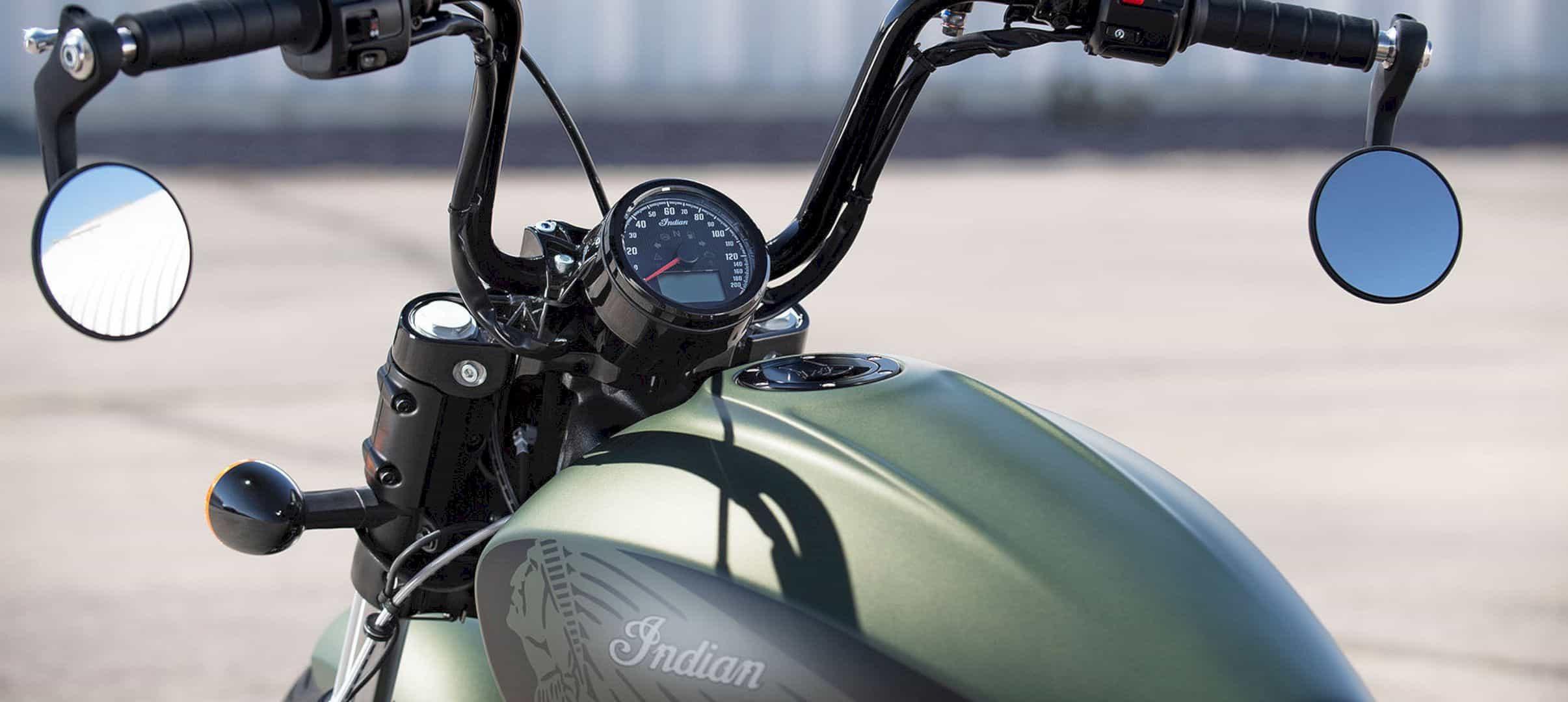 Indian Scout Bobber Twenty Motorcycle 6