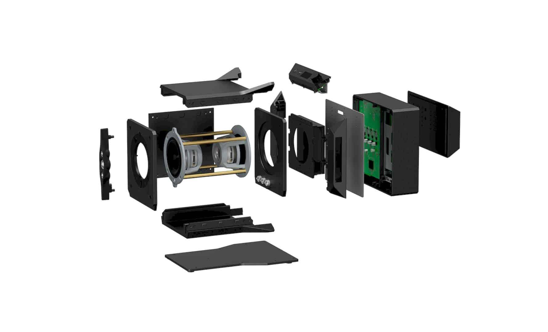 SA Z1 Hi Res Near Field Powered Speaker System Signature Series 1