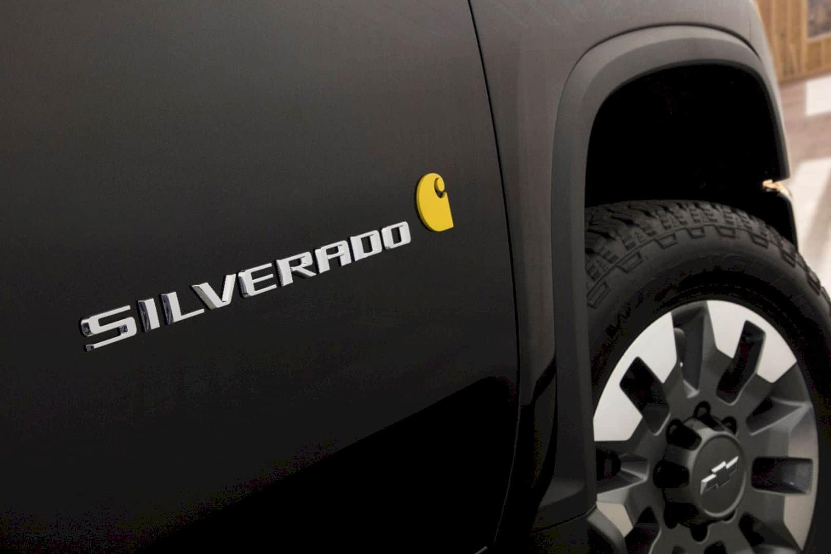 2021 Chevrolet Silverado HD Carhartt Special Edition 8