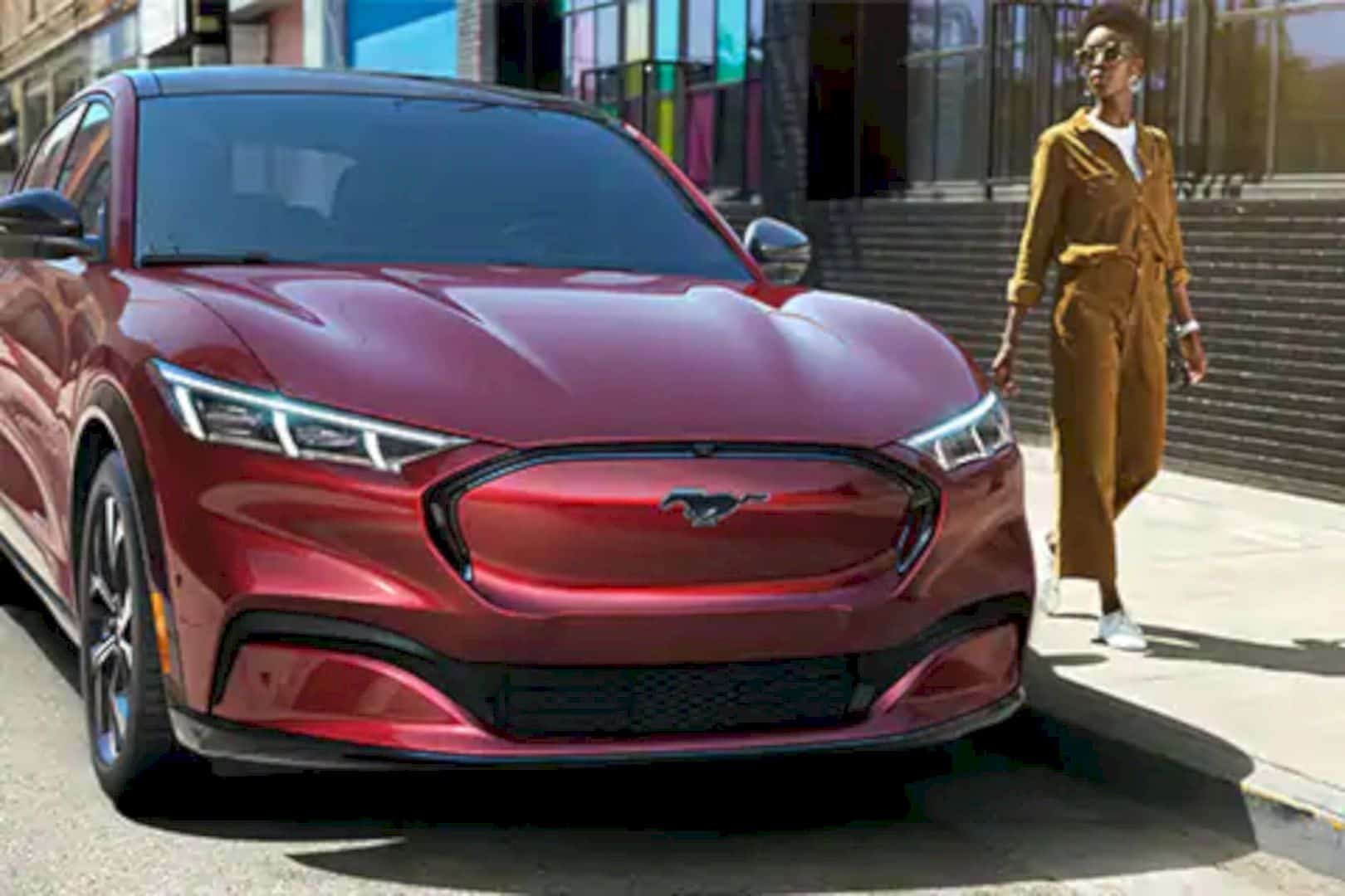 2021 Ford® Mustang Mach E SUV 8