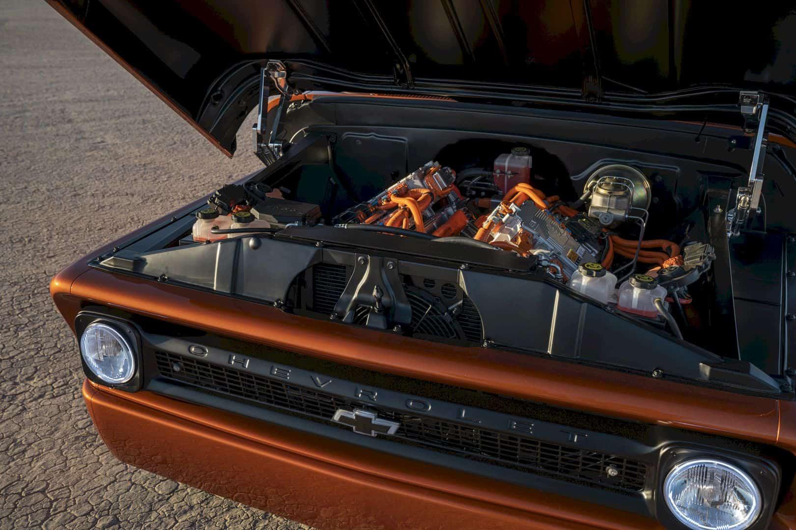 Chevrolet E 10 Concept Electrifies Hot Rodding World 4
