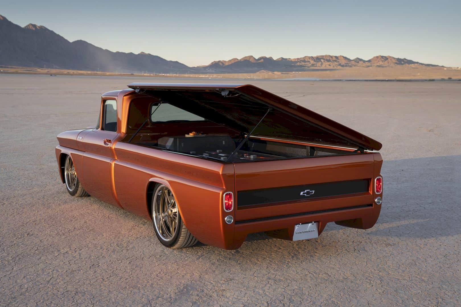 Chevrolet E 10 Concept Electrifies Hot Rodding World 6