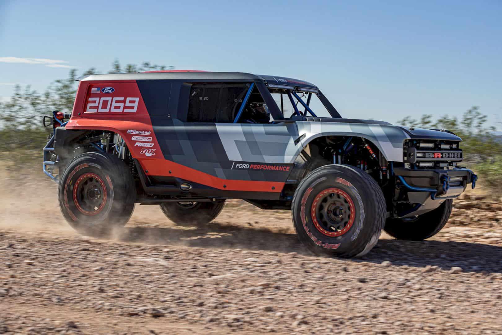 Ford Bronco R Race Prototype 4