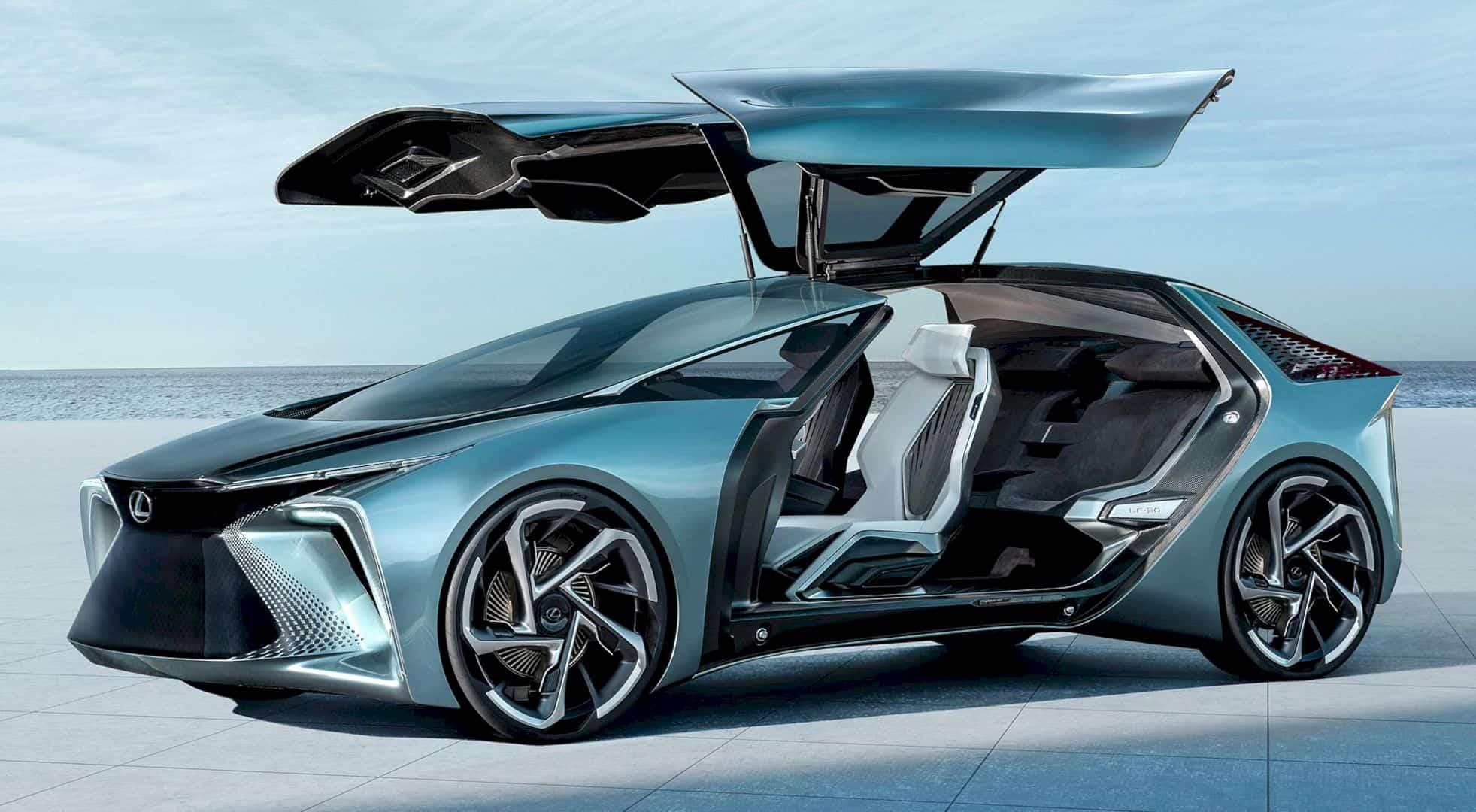 Lexus LF 30 Electrified 8