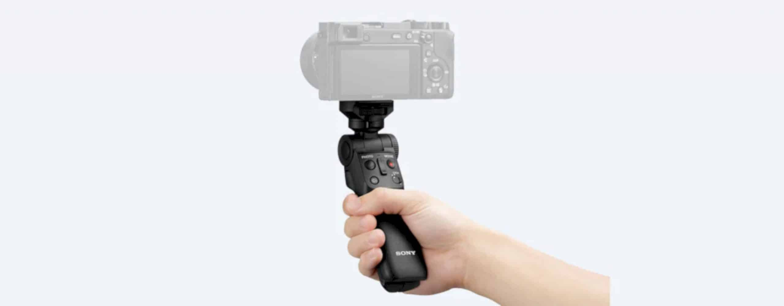 Sony GP VPT2BT Shooting Grip With Wireless Remote Commander 1