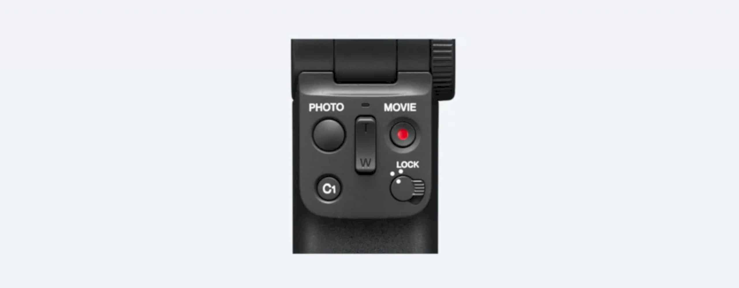Sony GP VPT2BT Shooting Grip With Wireless Remote Commander 4