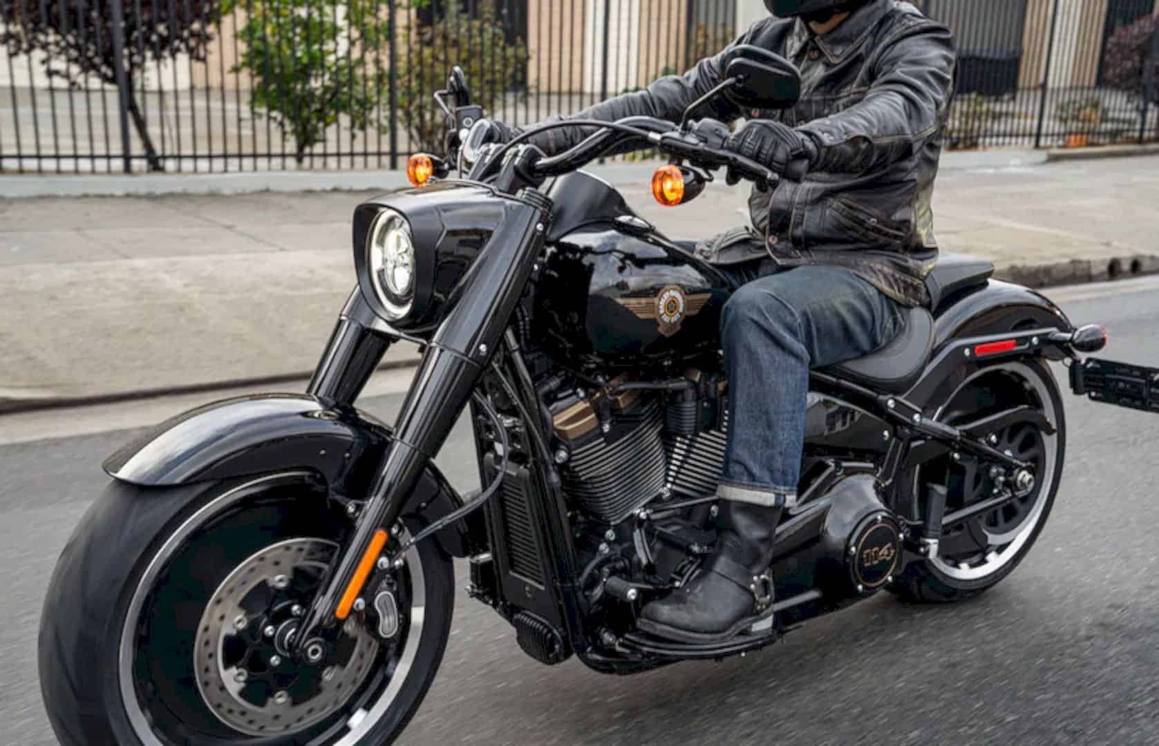 Harley Davidson 2020 Fat Boy® 114 Motorcycle 1
