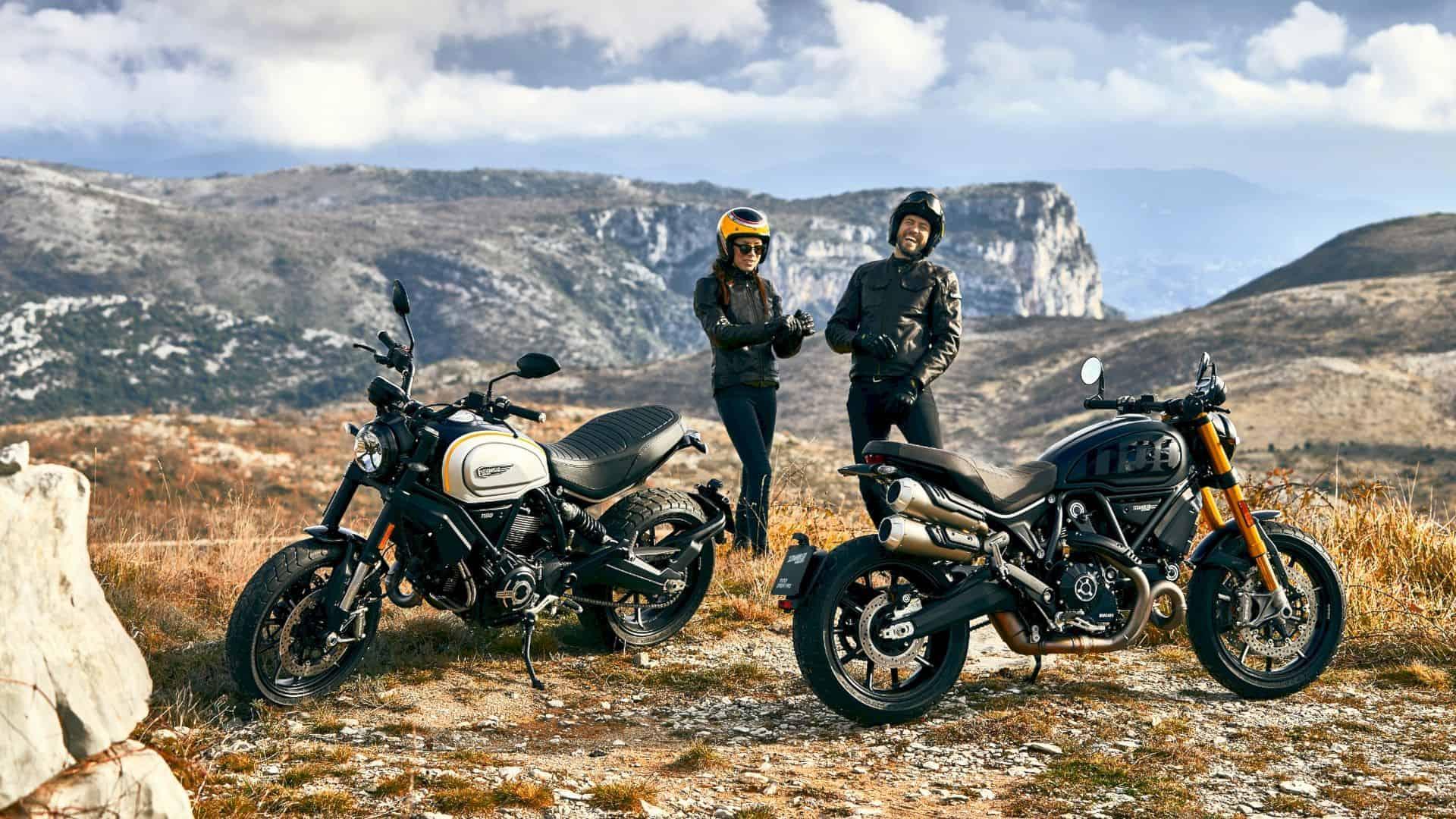 Scrambler Ducati 1100 Pro 4