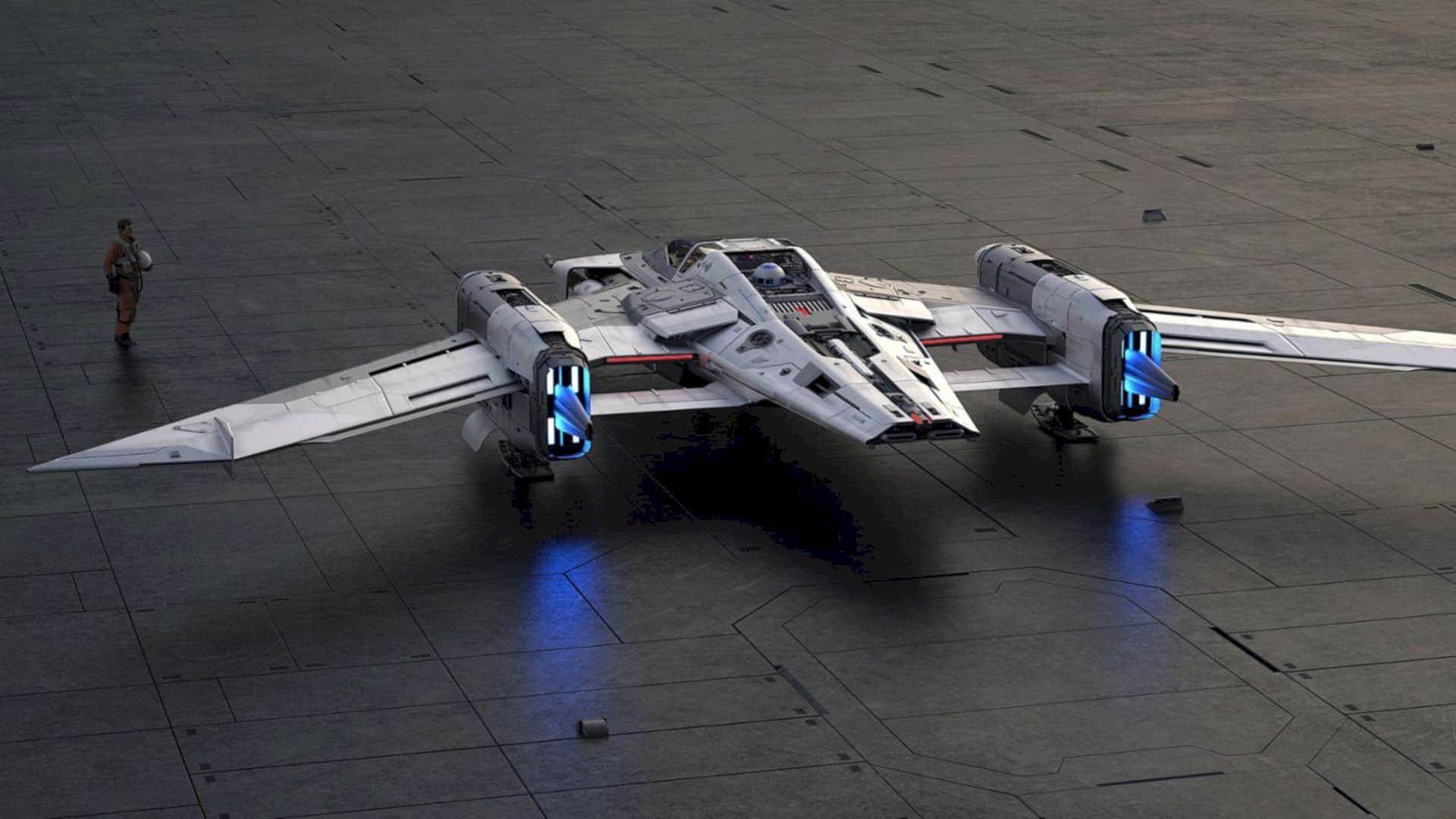 Tri Wing S 91x Pegasus Starfighter 4