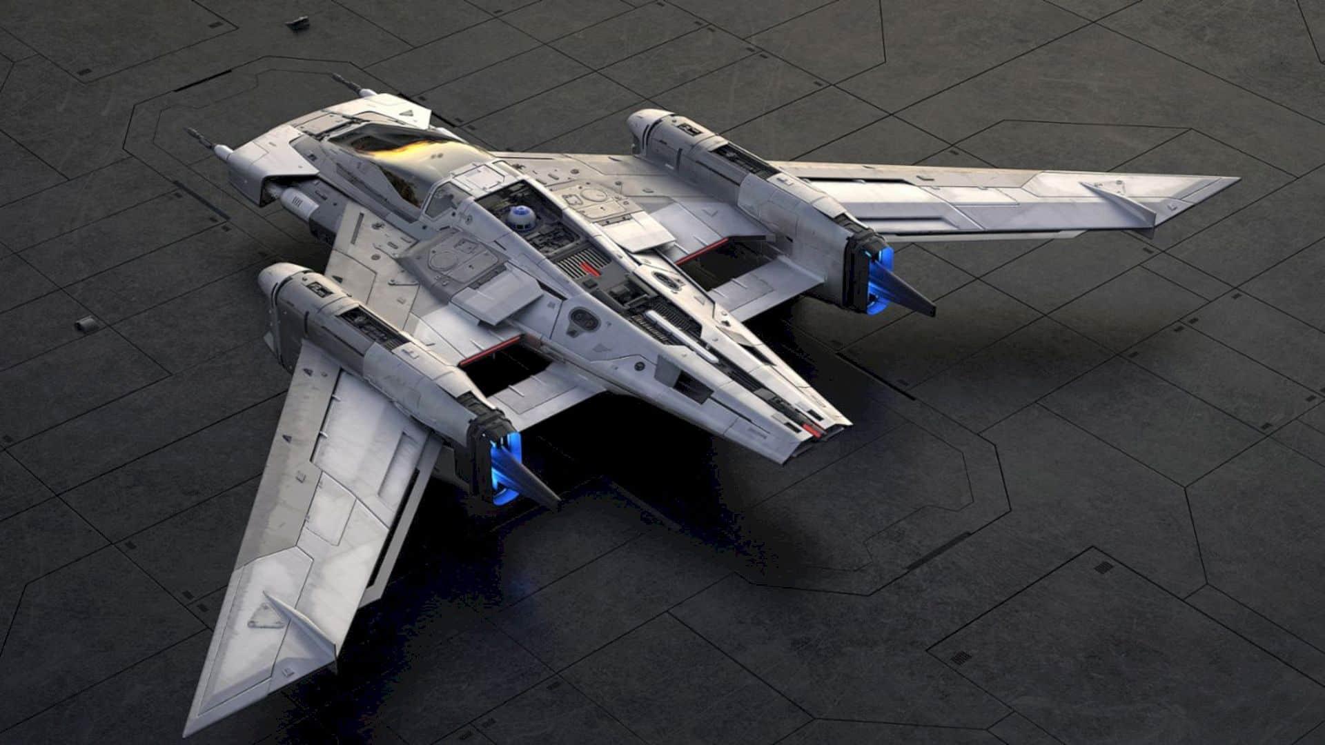 Tri Wing S 91x Pegasus Starfighter 5