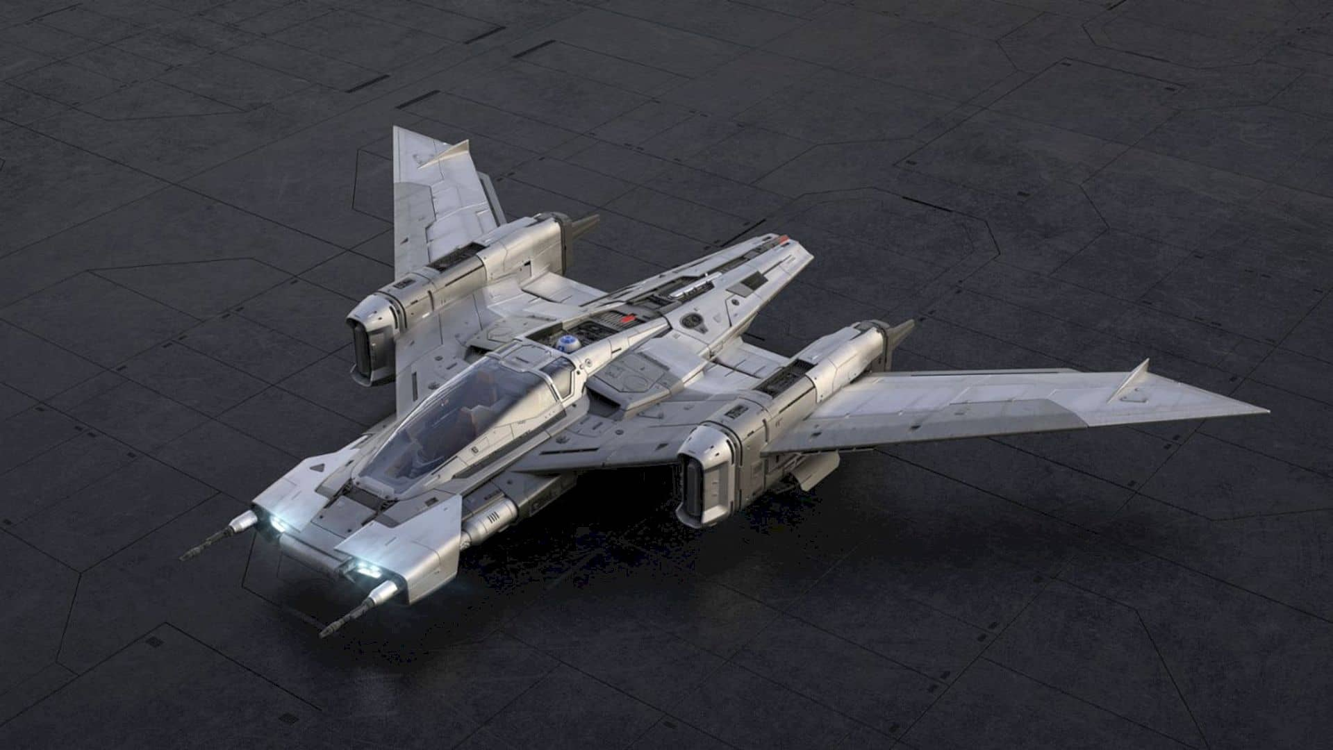 Tri Wing S 91x Pegasus Starfighter 6