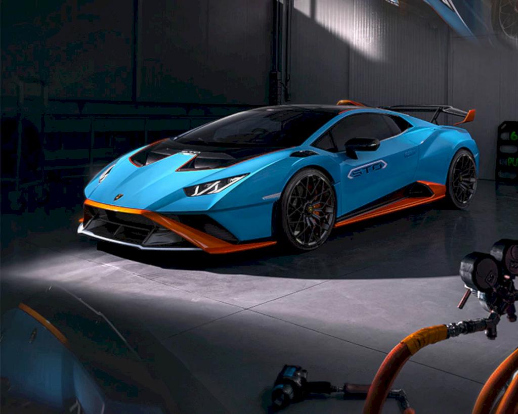 Lamborghini Huracán Sto 8