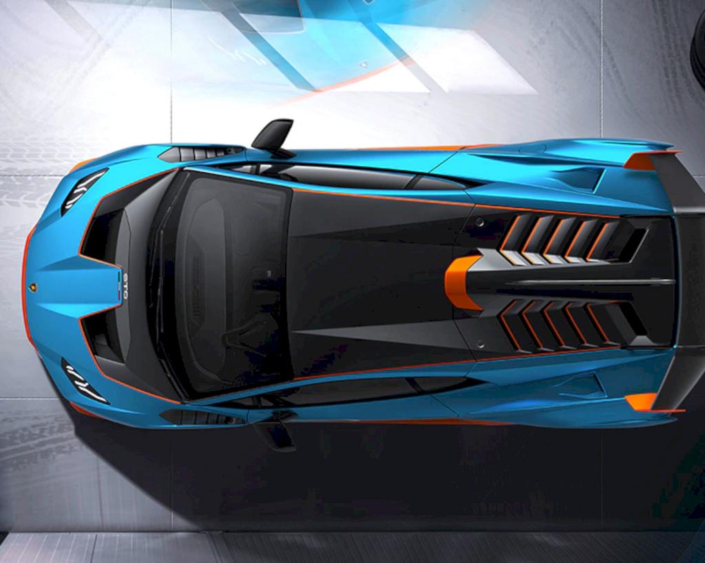 Lamborghini Huracán Sto 9