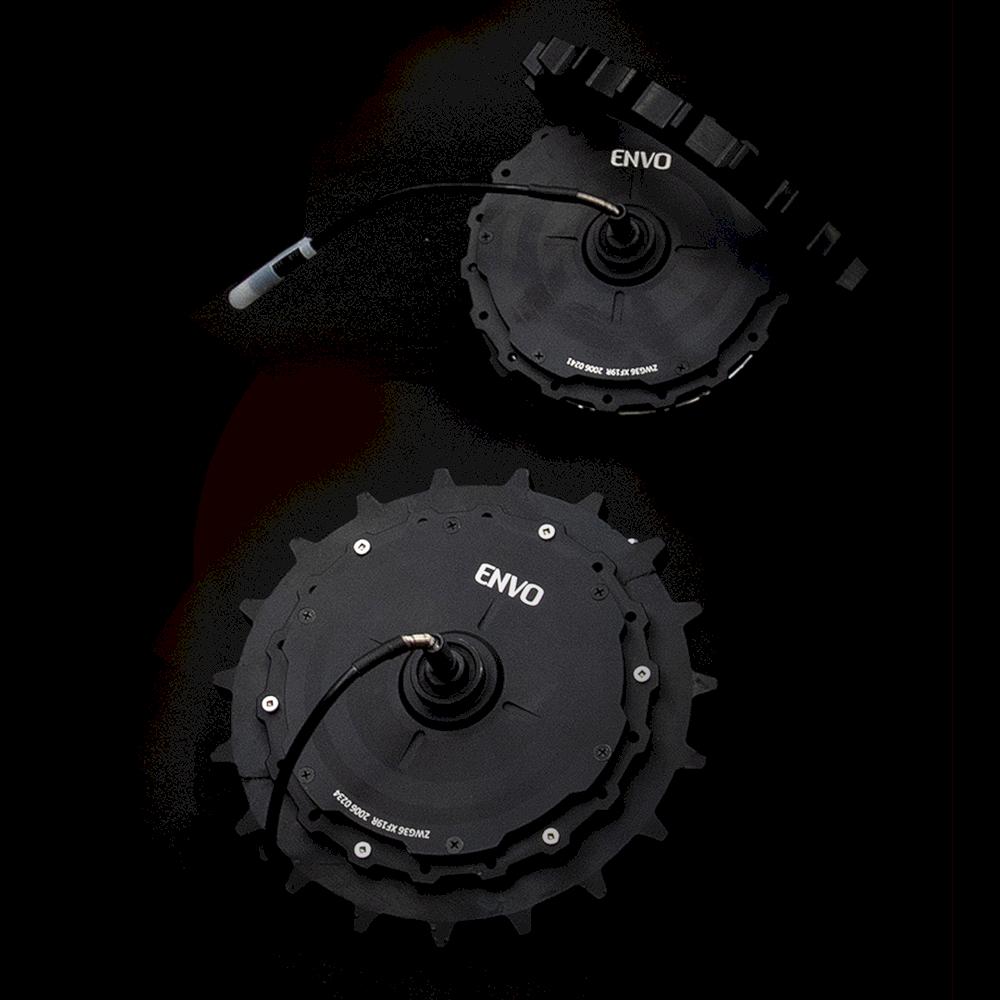 Envo Electric Snowbike Kit 4