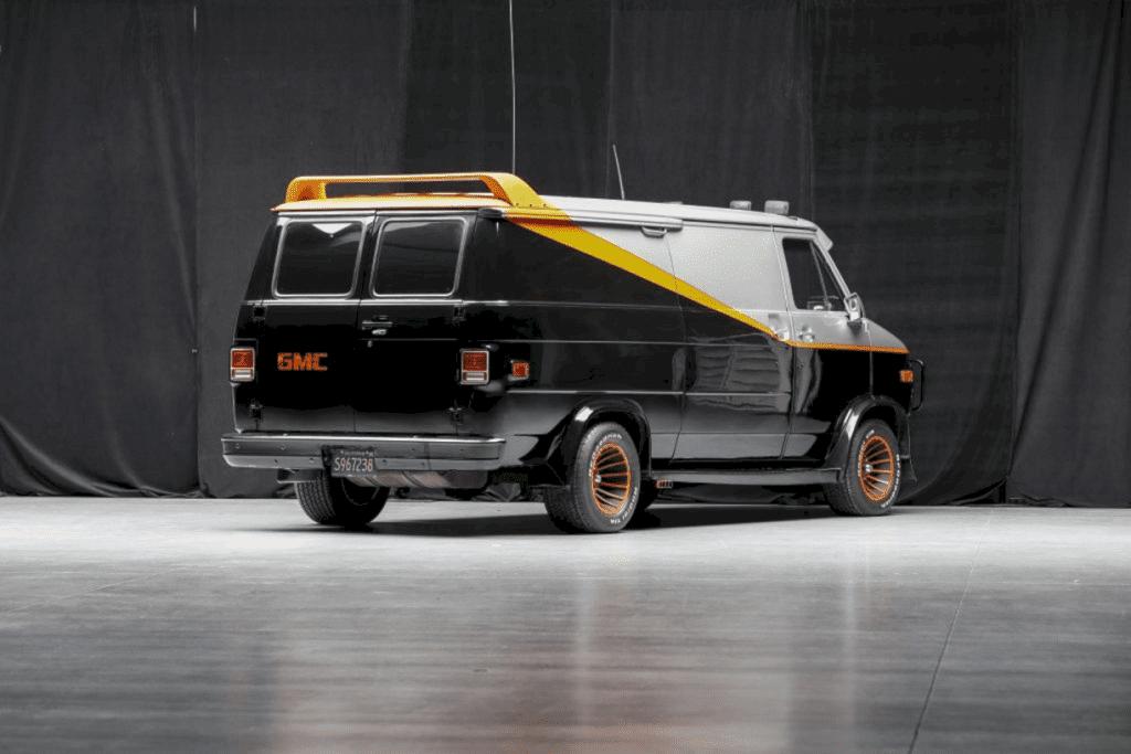 1979 Chevrolet 'a Team' Van 6