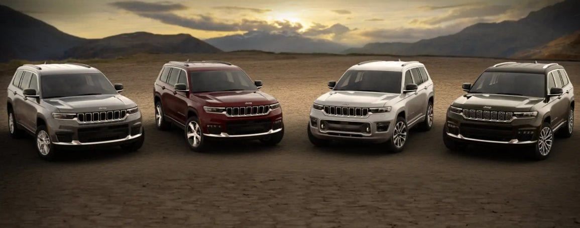 Jeep® Grand Cherokee L Lineup