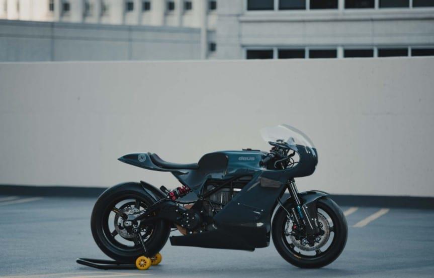 Zero Motorcycles X Deus Ex Machina
