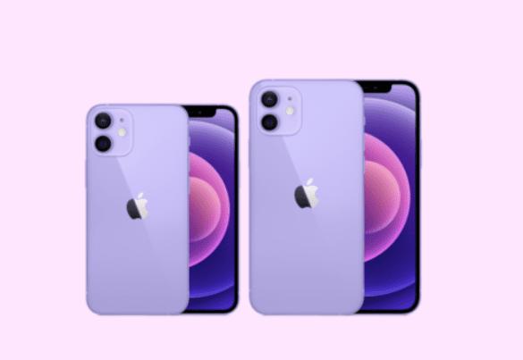 Apple Purple IPhone 12 & IPhone12 Mini (2)
