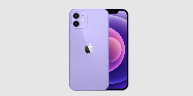 Apple Purple Iphone 12