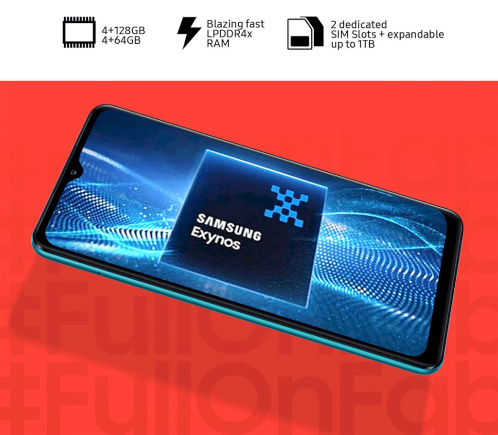 Samsung Galaxy F12 3