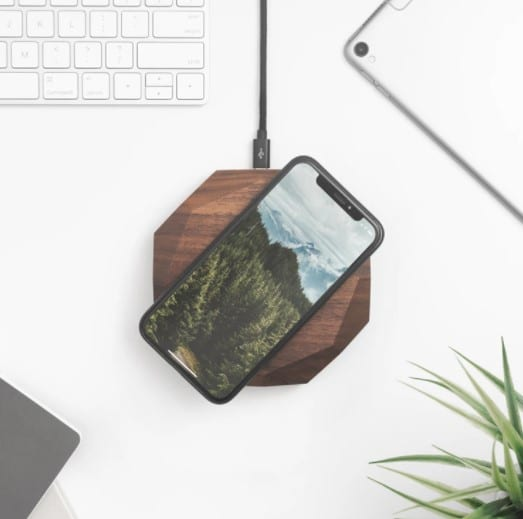 Oaky Wood QI Wireless Charger